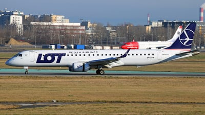 SP-LNM - Embraer 190-200IGW - LOT Polish Airlines