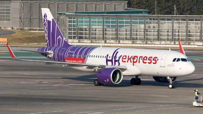 B-LCL - Airbus A320-271N - Hong Kong Express - Flightradar24