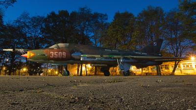 3509 - Sukhoi Su-22M4 Fitter K - Poland - Air Force
