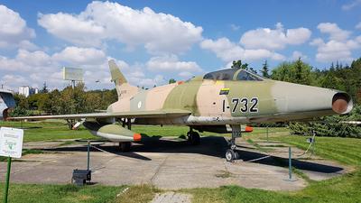 53-1732 - North American F-100C Super Sabre - Turkey - Air Force