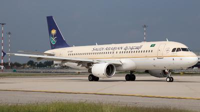 HZ-ASA - Airbus A320-214 - Saudi Arabian Airlines