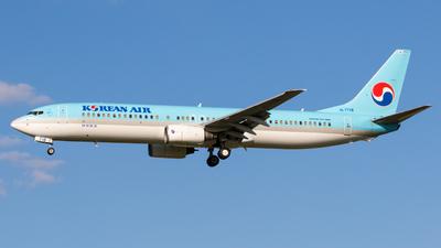 HL7718 - Boeing 737-9B5 - Korean Air