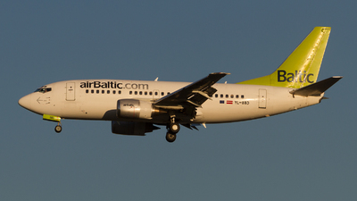 YL-BBD - Boeing 737-53S - Air Baltic
