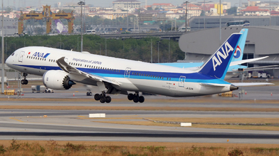 JA921A - Boeing 787-9 Dreamliner - All Nippon Airways (ANA)