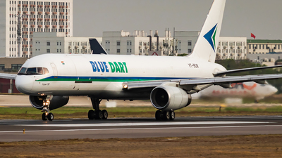 A picture of VTBDM - Boeing 75723N(PCF) - Blue Dart Aviation - © SnowMiku39