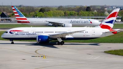 A picture of GZBJC - Boeing 7878 Dreamliner - British Airways - © kchavgeek96