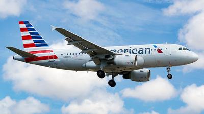N714US - Airbus A319-112 - American Airlines