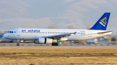 P4-WAS - Airbus A320-232 - Air Astana