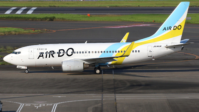 A picture of JA14AN - Boeing 737781 - Air Do - © J.Aoyama