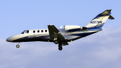 N207MM - Cessna 525A CitationJet CJ2 - Private