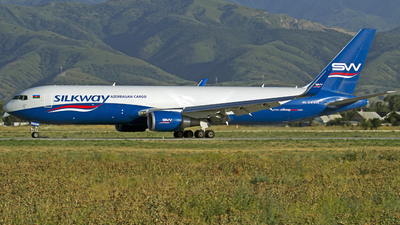 4K-SW808 - Boeing 767-32LF(ER) - Silk Way West Airlines