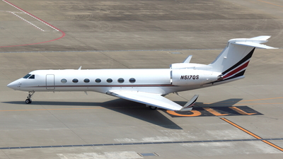 N517QS - Gulfstream G550 - Private