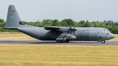 B-536 - Lockheed Martin C-130J-30 Hercules - Denmark - Air Force