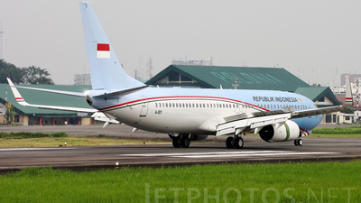 A-001 - Boeing 737-8U3(BBJ2) - Indonesia - Government