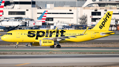 A picture of N695NK - Airbus A320232 - Spirit Airlines - © arora7dm