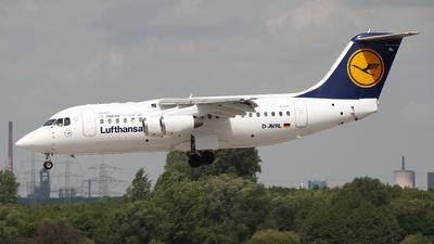 D-AVRL - British Aerospace Avro RJ85 - Lufthansa CityLine
