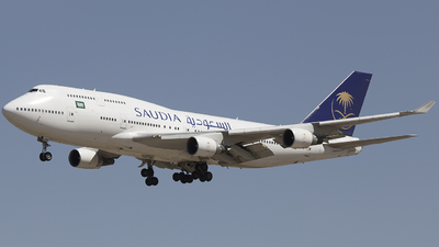 TF-AAM - Boeing 747-4H6 - Saudi Arabian Airlines (Air Atlanta Icelandic)