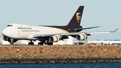 A picture of N573UP - Boeing 74744A(F) - UPS Airlines - © LuftTaube