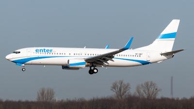 A picture of SPENT - Boeing 7378AS - Enter Air - © Chris de Breun