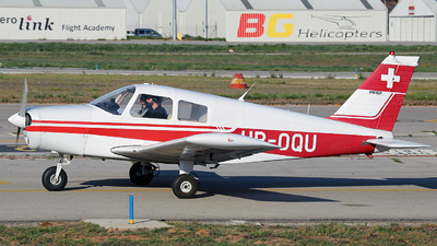 HB-OQU - Piper PA-28-140 Cherokee Cruiser - Private