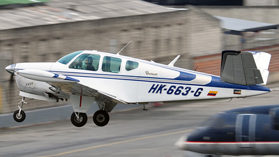 HK-663-G - Beechcraft V35 Bonanza - Private