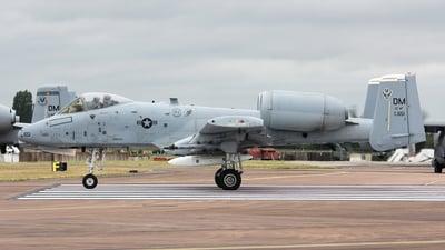 78-0651 - Fairchild A-10C Thunderbolt II - United States - US Air Force (USAF)