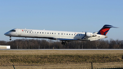 A picture of N931XJ - Mitsubishi CRJ900LR - Delta Air Lines - © DJ Reed - OPShots Photo Team