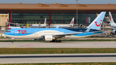 A picture of OOJNL - Boeing 767304(ER) - TUI fly - © yiran