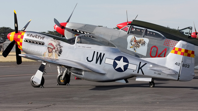 VH-JWK - Stewart P-51 Replica - Private