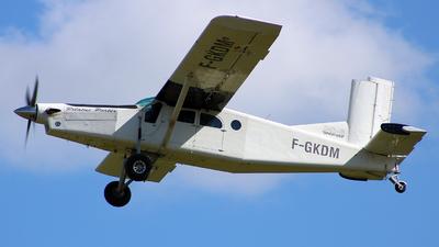 F-GKDM - Pilatus PC-6/B2-H4 Turbo Porter - Private