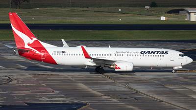 A picture of VHVXH - Boeing 737838 - Qantas - © AznHentaiSpotter