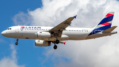 A picture of PRMAG - Airbus A320232 - LATAM Airlines - © Mike Sierra Oscar