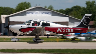 A picture of N831MM - Cirrus SR22T - [0493] - © Jeremy D. Dando