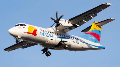 A picture of HK5130 - ATR 42600 - Satena - © Esteban Cristancho