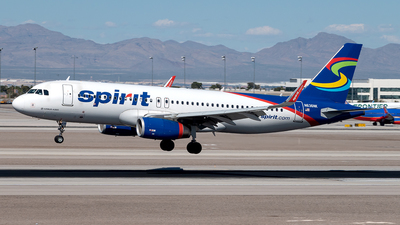 A picture of N636NK - Airbus A320232 - Spirit Airlines - © Yan777