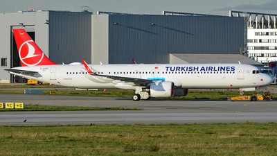 D-AYAP - Airbus A321-271NX - Turkish Airlines
