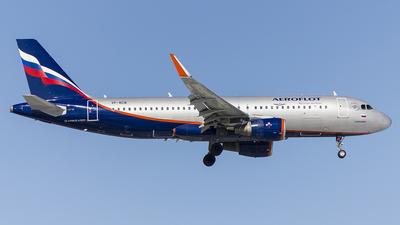 A picture of VPBCB - Airbus A320214 - Aeroflot - © Artem Sanchez