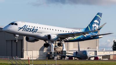A picture of N634QX - Embraer E175LR - Alaska Airlines - © Nick Sheeder