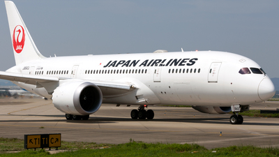 JA843J - Boeing 787-8 Dreamliner - Japan Airlines (JAL)