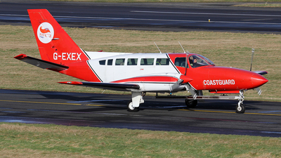 G-EXEX - Cessna 404 Titan - United Kingdom - Coast Guard
