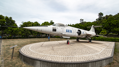 4416 - Lockheed F-104G Starfighter - Taiwan - Air Force
