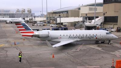 N420AW - Bombardier CRJ-200LR - American Eagle (Air Wisconsin)
