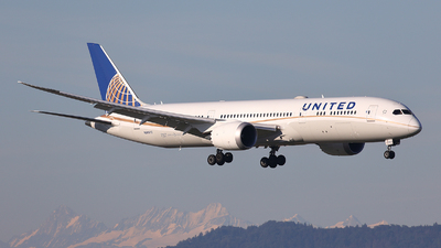 A picture of N26970 - Boeing 7879 Dreamliner - United Airlines - © Tomasz Habaj