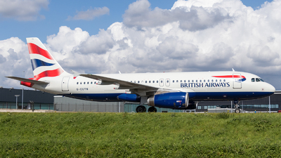 G-EUYN - Airbus A320-232 - British Airways