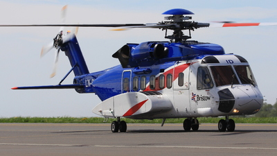 LN-OID - Sikorsky S-92A Helibus - Bristow Helicopters