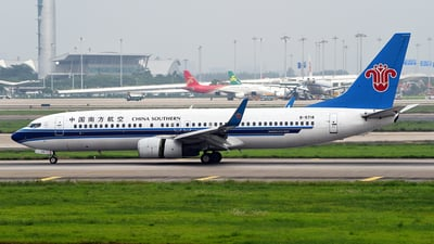 B-5718 - Boeing 737-81B - China Southern Airlines