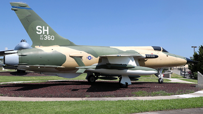 62-4360 - Republic F-105D Thunderchief - United States - US Air Force (USAF)