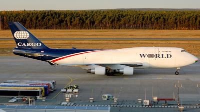 N741WA - Boeing 747-4H6(BDSF) - World Airways Cargo
