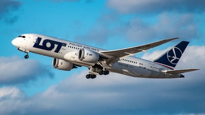SP-LRB - Boeing 787-8 Dreamliner - LOT Polish Airlines