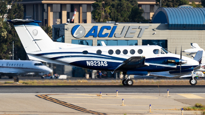 N923AS - Beechcraft 200 Super King Air - Private